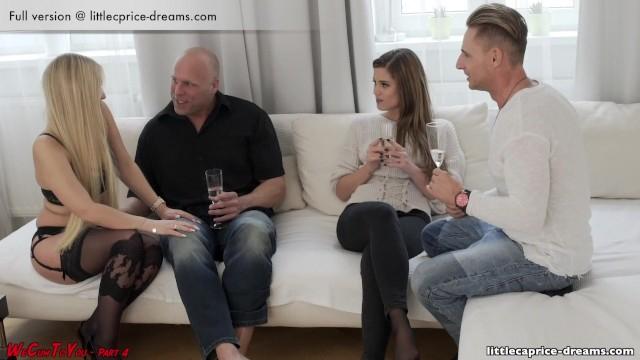 Sarışın lezbiyen kuzenler pornosu