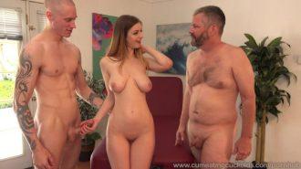 Beş adam bir kadın grup seks